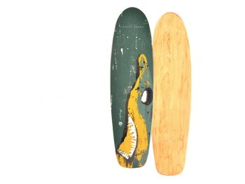 Skateboard Deck Shabby, Design by Shabby Surf Art