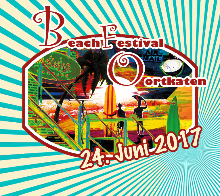 Beach Festival Hamburg: Artwork von Shabby Surf Art