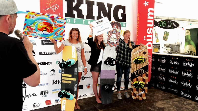 Shabby Surf Art beim King of the Lagoon 2018 in Büsum