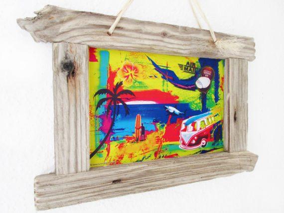 Bilderrahmen aus Treibholz von Shabby Surf Art.
