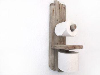 Toilettenpapierhalter aus Treibholz von Shabby Surf Art.